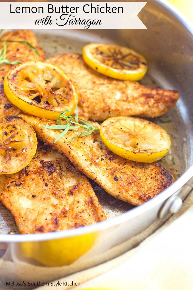 Lemon Butter Chicken With Tarragon
