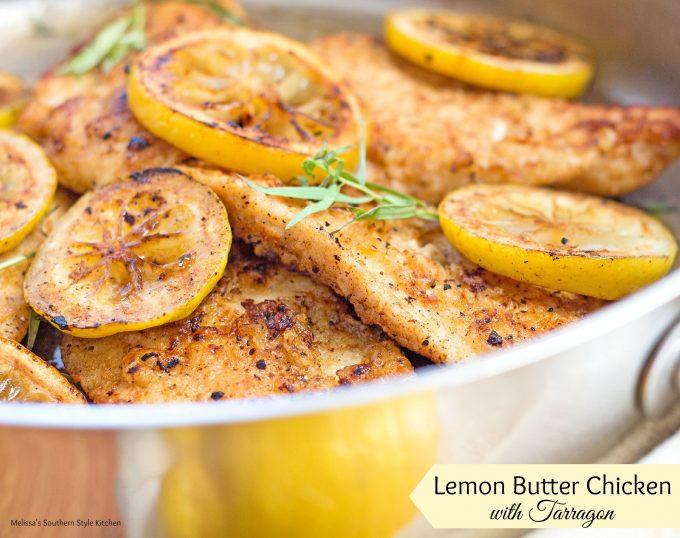 Lemon Butter Chicken With Tarragon ...