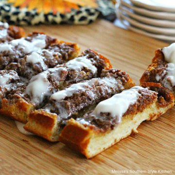 how to make Cinnamon Roll French Bread