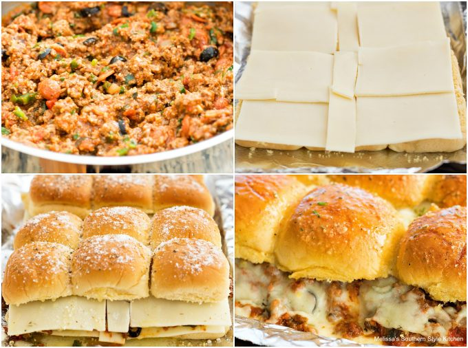 Sloppy Joe Pizza Sliders