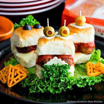 Monster Meatball Sliders recipe