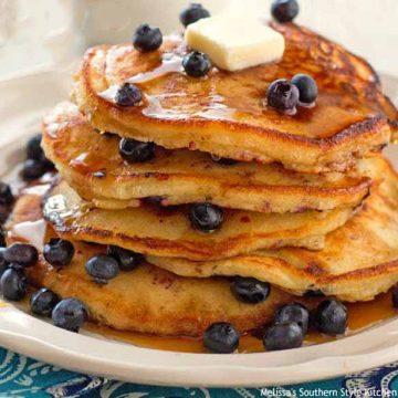 blueberry-buttermilk-pancakes