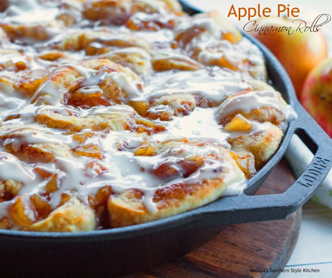 Apple Pie Cinnamon Rolls
