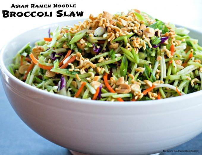 Asian Ramen Noodle Broccoli Slaw ...