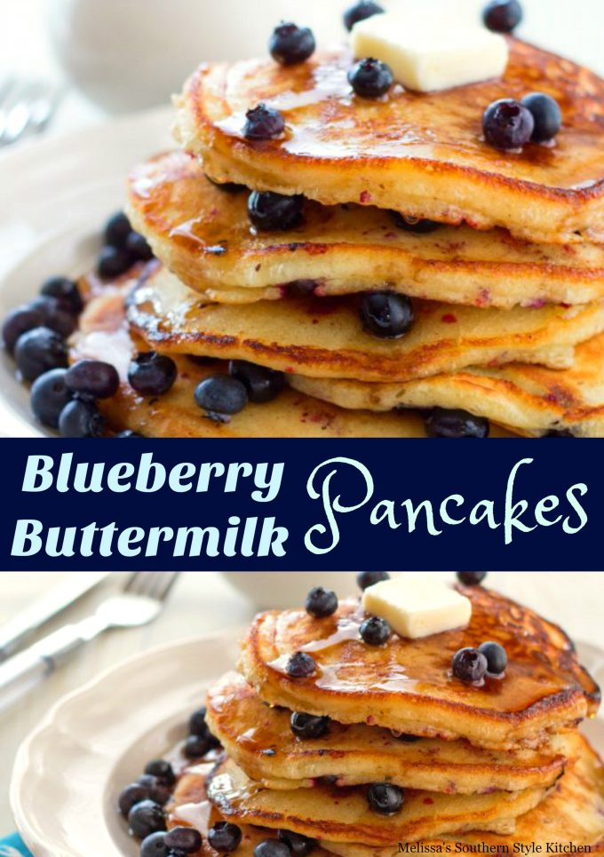 Blueberry Buttermilk Pancakes