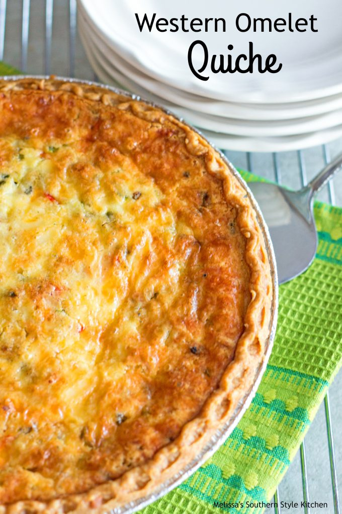 Melissa S Southern Style Kitchen Western Omelet Quiche