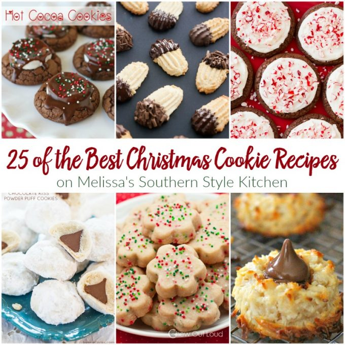 25 of the best christmas cookie recipes when the christmas season begins i actually feel giddy at the thought of all of the baking thats going to be - Best Christmas Cookies Recipes