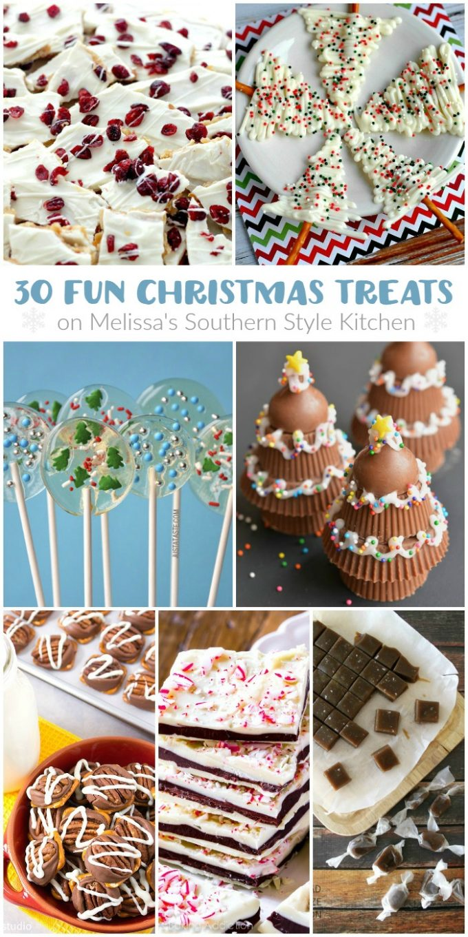 30 Fun Christmas Treats HERO