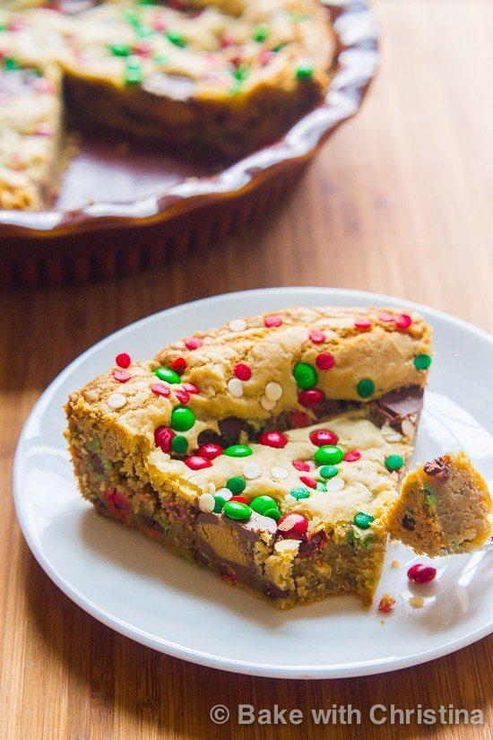 Christmas Cookie Pie