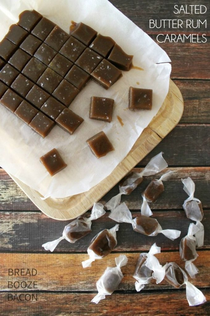 Salted Butter Rum Caramels