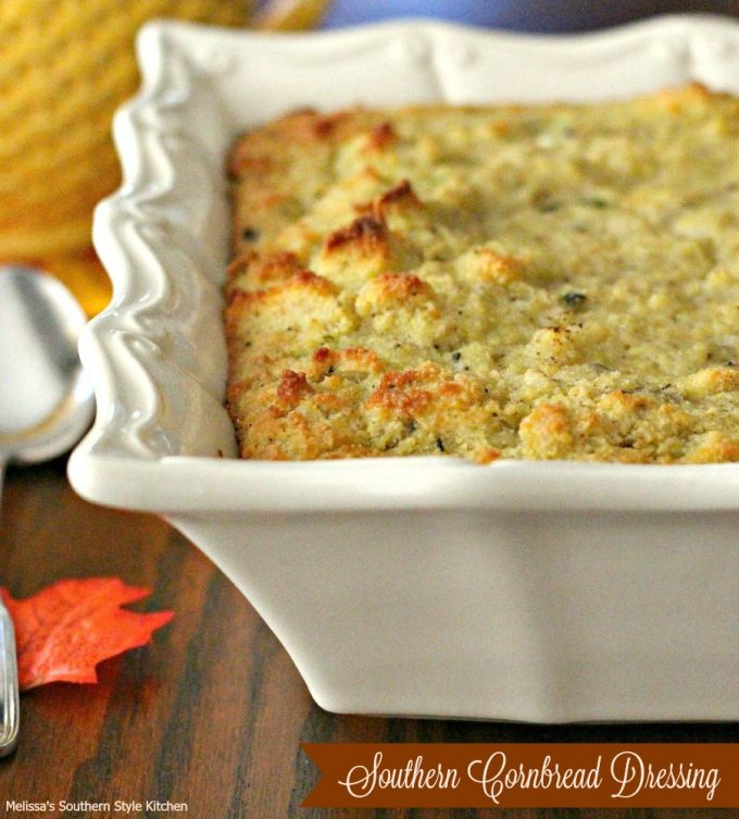 Old Fashioned Country Cornbread Dressing