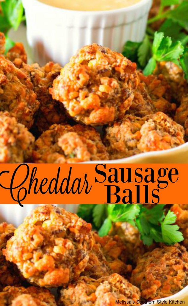 Cheddar Sausage Balls
