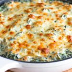 Pepper Jack Spinach Dip with Bacon