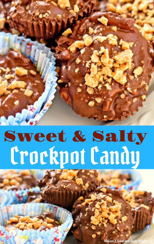 Sweet And Salty Crock Pot Candy