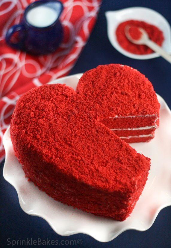 Heritage Red Velvet Cake Recipe