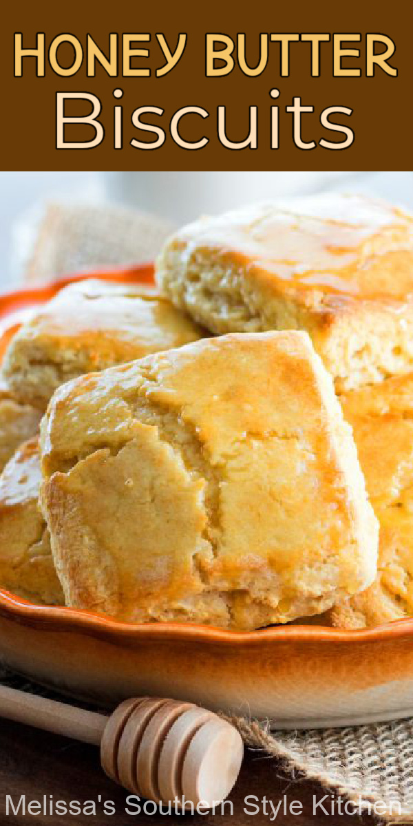 You can enjoy these Honey Butter Biscuits at any meal #honeybutterbiscuits #biscuits #biscuitrecipes #buttermilkbiscuits #southernbiscuits #brunch #breakfast #biscuitrecipes #holidaybrunch #southernfood #southernrecipes