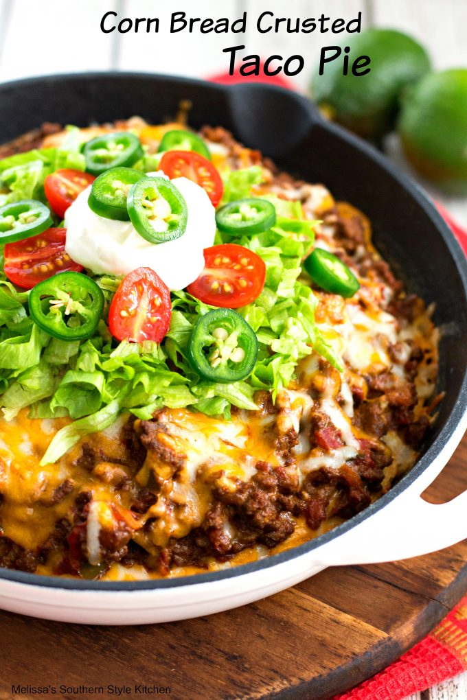 recipe: taco pie with tortilla chips [4]