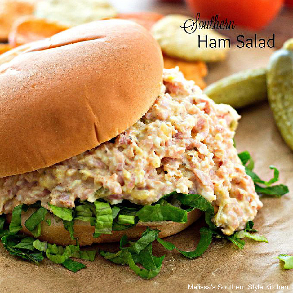 easy Southern Ham Salad