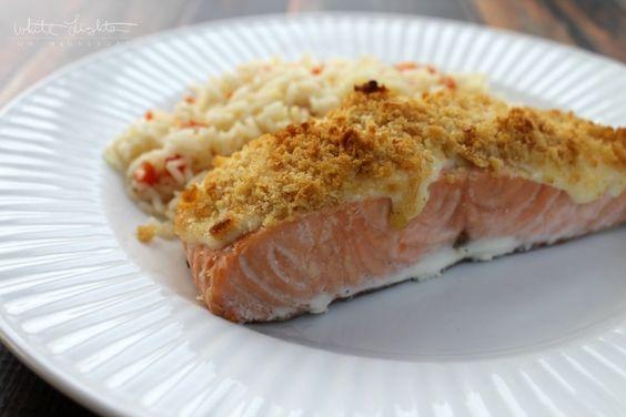 Parmesan-Baked Salmon