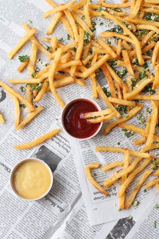 Lemon and Herb French Fry Recipe