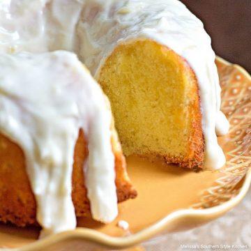 Southern Pineapple Pound Cake
