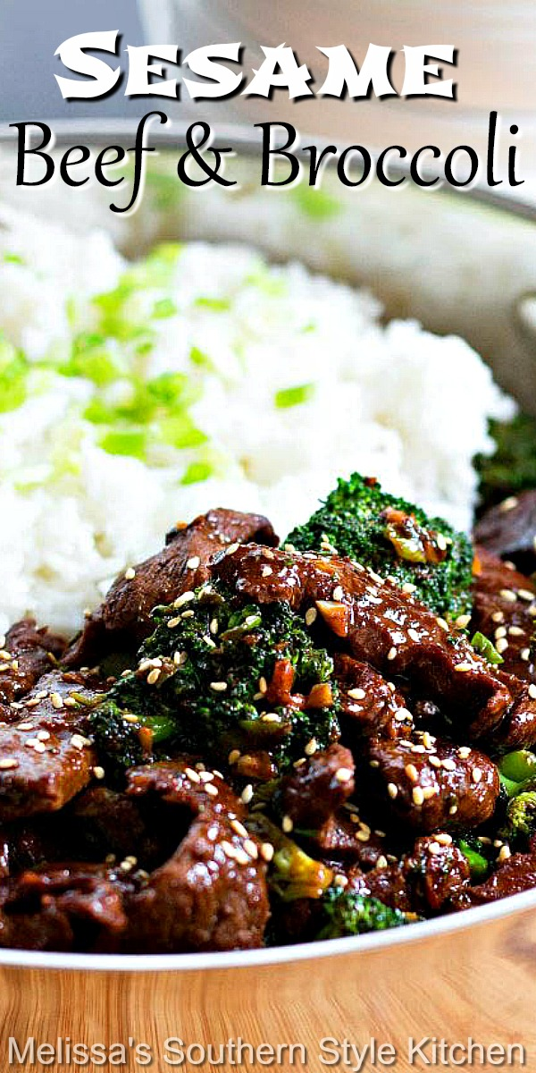 Better than take out Sesame Beef and Broccoli #beefandbroccoli #sesamebeef #stirfy #beefrecipes #steak #asianrecipes #asian #asianbeef #broccolistirfry #lowcarbrecipes #dinner #dinnerideas #recipes #food