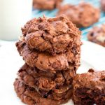 Rocky Road Brownie Cookies