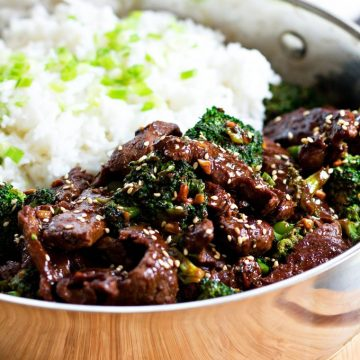 Sesame Beef And Broccoli