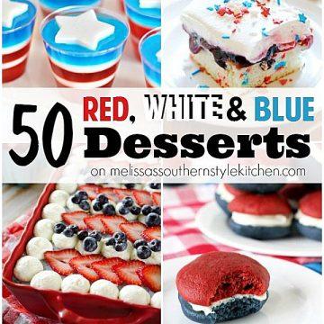 50 Patriotic dessert recipes