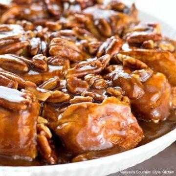 Easy Caramel Pecan Sticky Rolls recipe