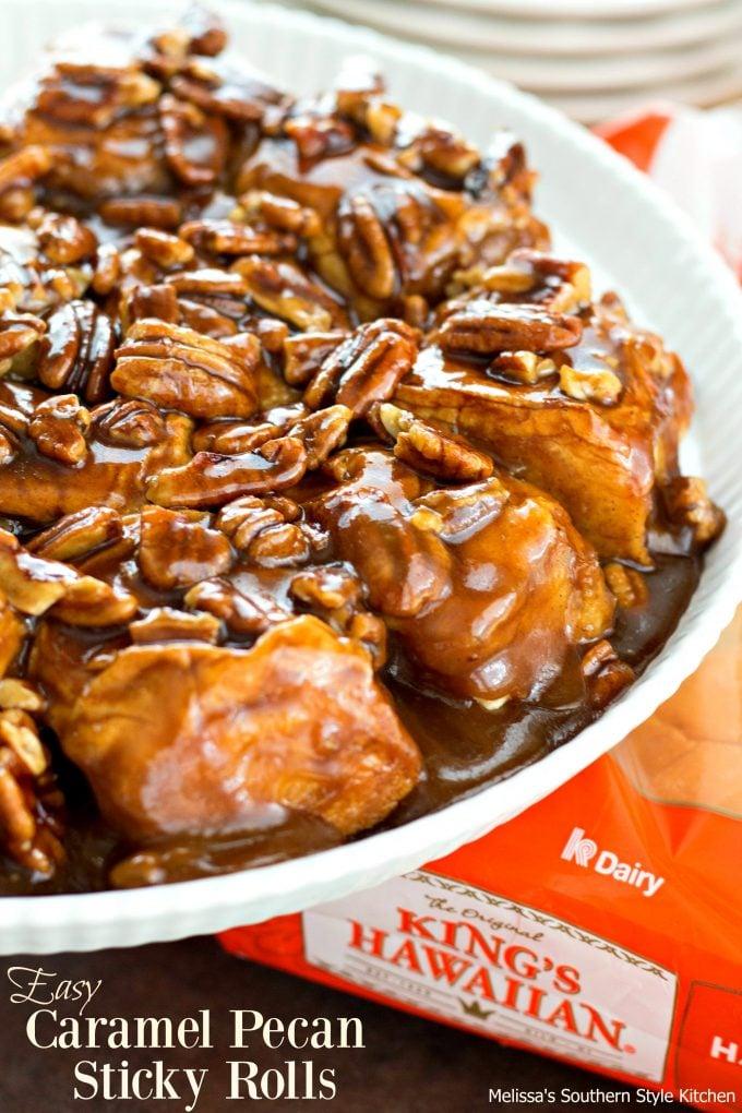 Easy Caramel Pecan Sticky Rolls ...