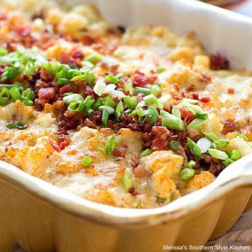 Chicken Bacon Ranch Potato Casserole recipe