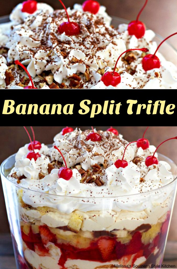 Pineapple Pound Cake Trifle