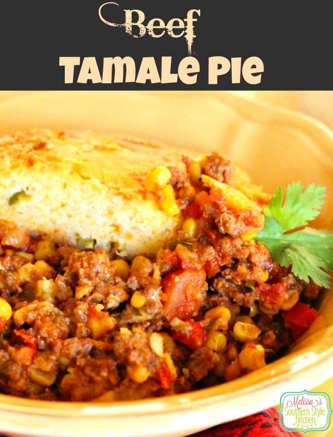 Beef Tamale Pie