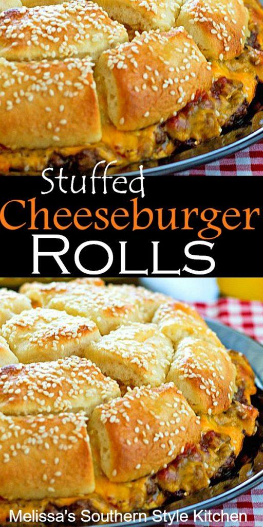 Stuffed Cheeseburger Rolls