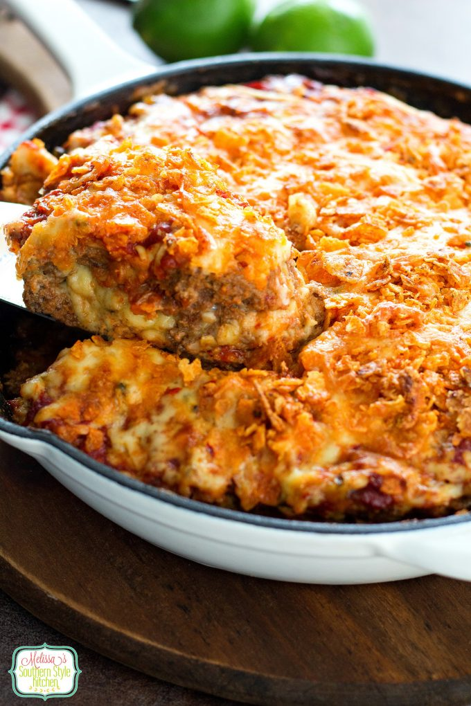 Cheese Stuffed Taco Meatloaf
