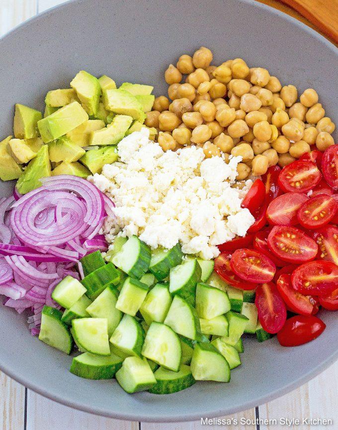 fresh Chickpea Salad recipe
