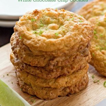 Key Lime Coconut White Chocolate Chip Cookies Recipe