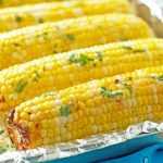 Oven Roasted Corn On The Cobb