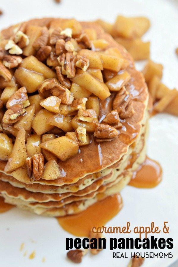 caramel-apple-pecan-pancakes