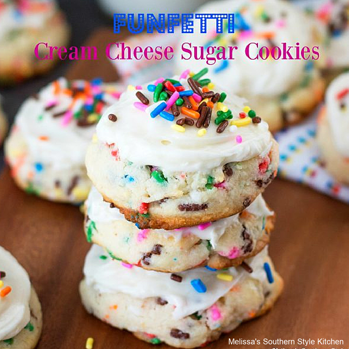 easy Funfetti Sugar Cookies