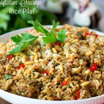 Italian Sausage Rice Pilaf Recipe