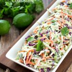 Cilantro Lime Cole Slaw Recipe