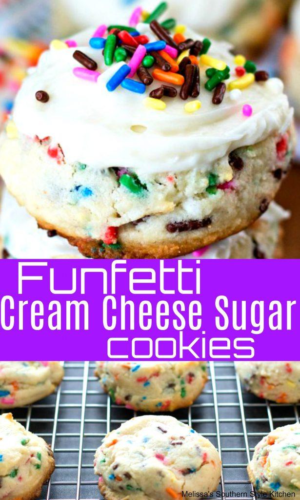 Funfetti Cream Cheese Sugar Cookies