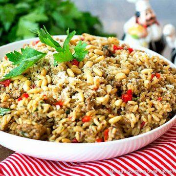 italian-sausage-rice-pilaf