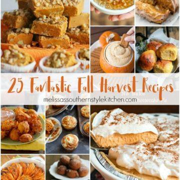 25 Fantastic Fall Harvest Recipes
