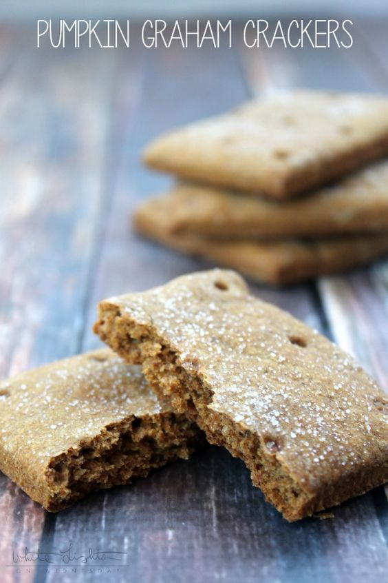 pumpkin-graham-crackers
