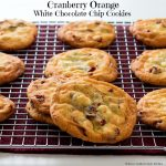 Cranberry Orange White Chocolate Chip Cookies Recipe