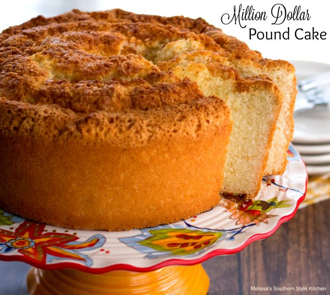 Million Dollar Pound Cake Recipe Southern Living