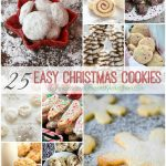 25 Easy Christmas Cookies